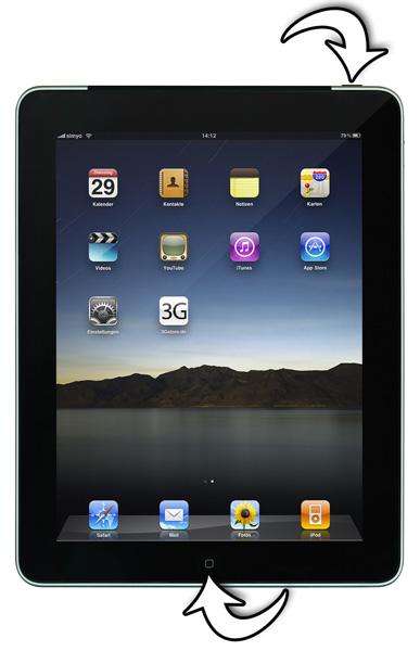 Tutorial: Screenshots auf dem iPad