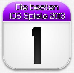 Die besten iOS Spiele Januar 2013