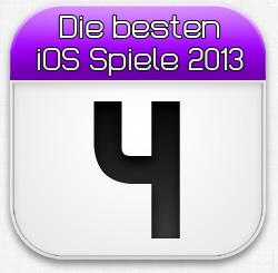 Die besten iOS Spiele April 2013