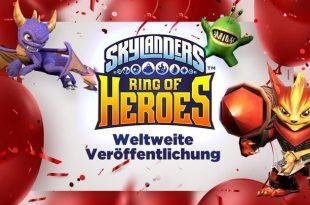 Skylanders Ring of Heroes Release
