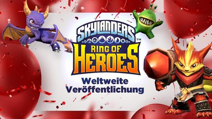 Skylanders – Ring of Heroes: Weltweiter Start des knuddligen Monsterspiels