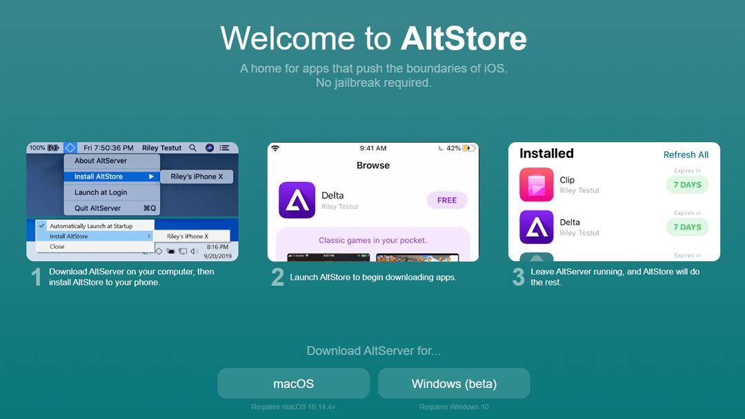 AltStore 1080x608
