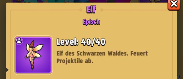 Archero_Elf-Gefährte