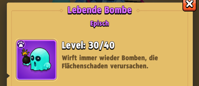 Archero_BesterBegleiter_Lebende-Bombe