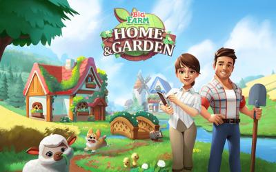 Big Farm: Home & Garden macht euch zum Farm-Designer