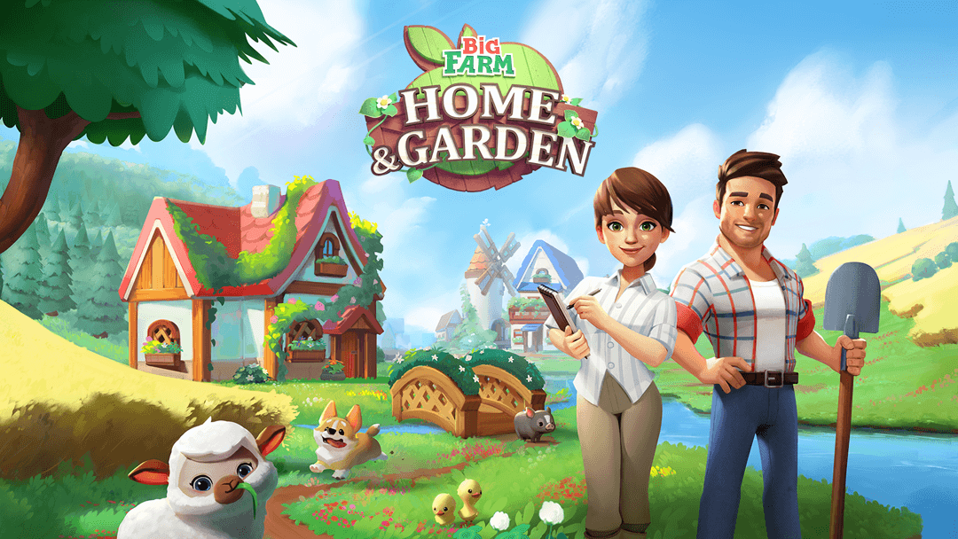 Big Farm: Home and Garden