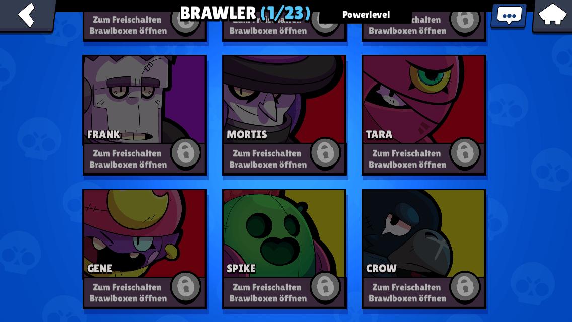 Brawl Stars Lootboxen