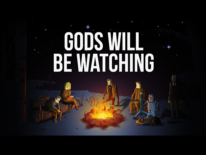 Review: Gods Will Be Watching – Welt(all) retten ohne viel Ballerei