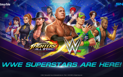 WWE-Superstars mischen The King of Fighters Allstar auf!