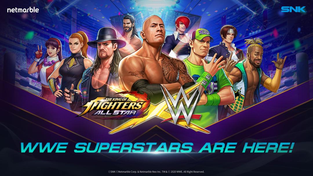 WWE-Superstars mischen The King of Fighters Allstar auf!