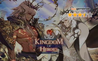 Kingdom of Heroes: Tactics War – Spaßiges RPG hinter gewöhnlicher Fassade
