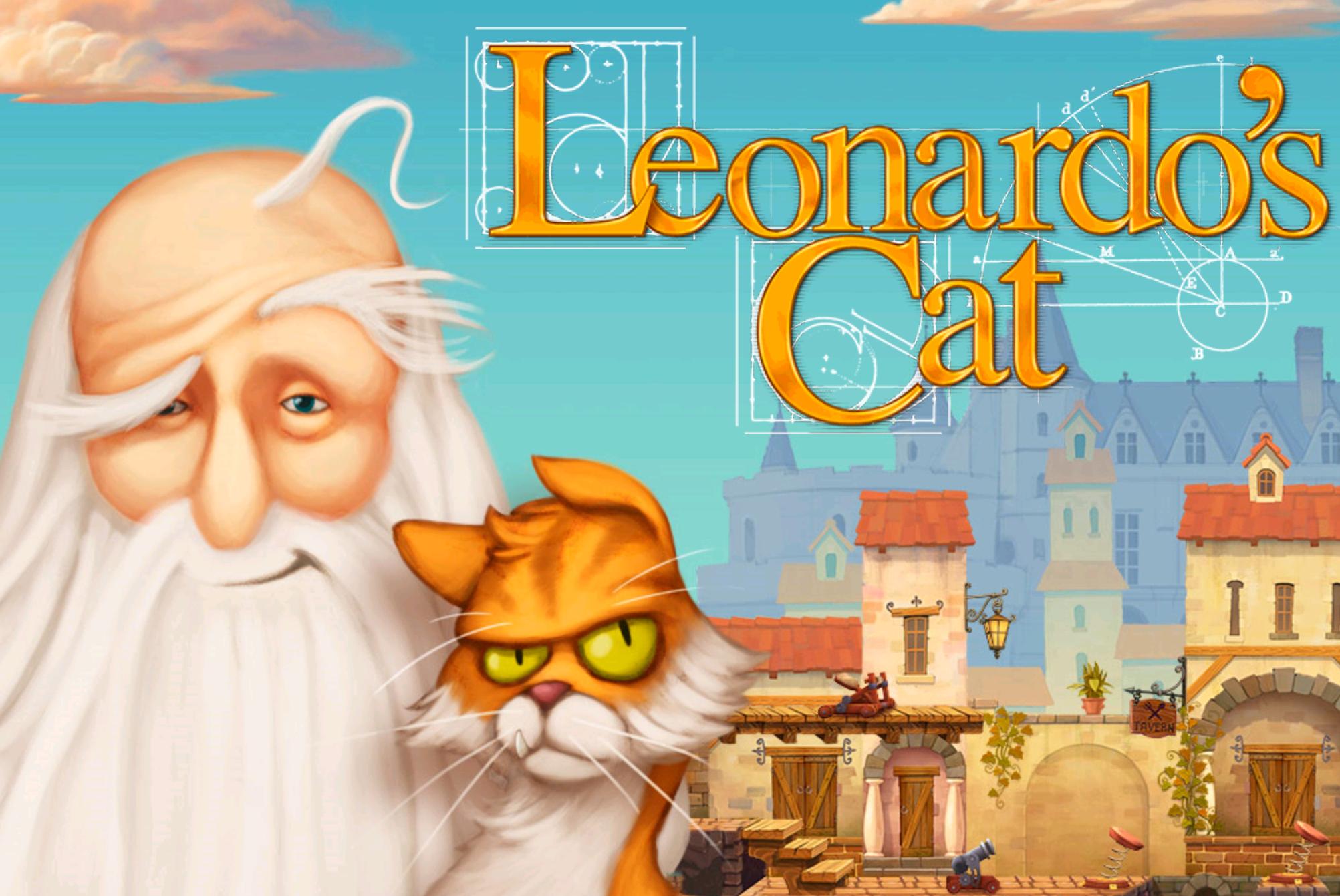 Review: Leonardos Katze – Rätselspaß (nicht nur) für die Kleinen