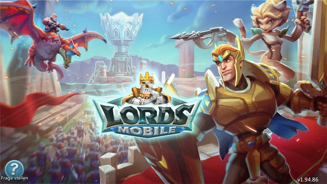 Lords Mobile: Helden retten den Tag
