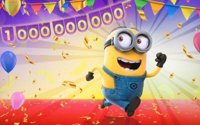 Minion Rush: Trailer zur Feier von 1 Mrd. Downloads