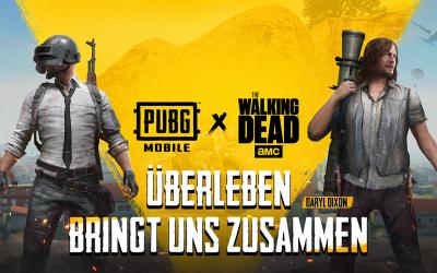 PUBG Mobile: Die wandernden Toten kommen!