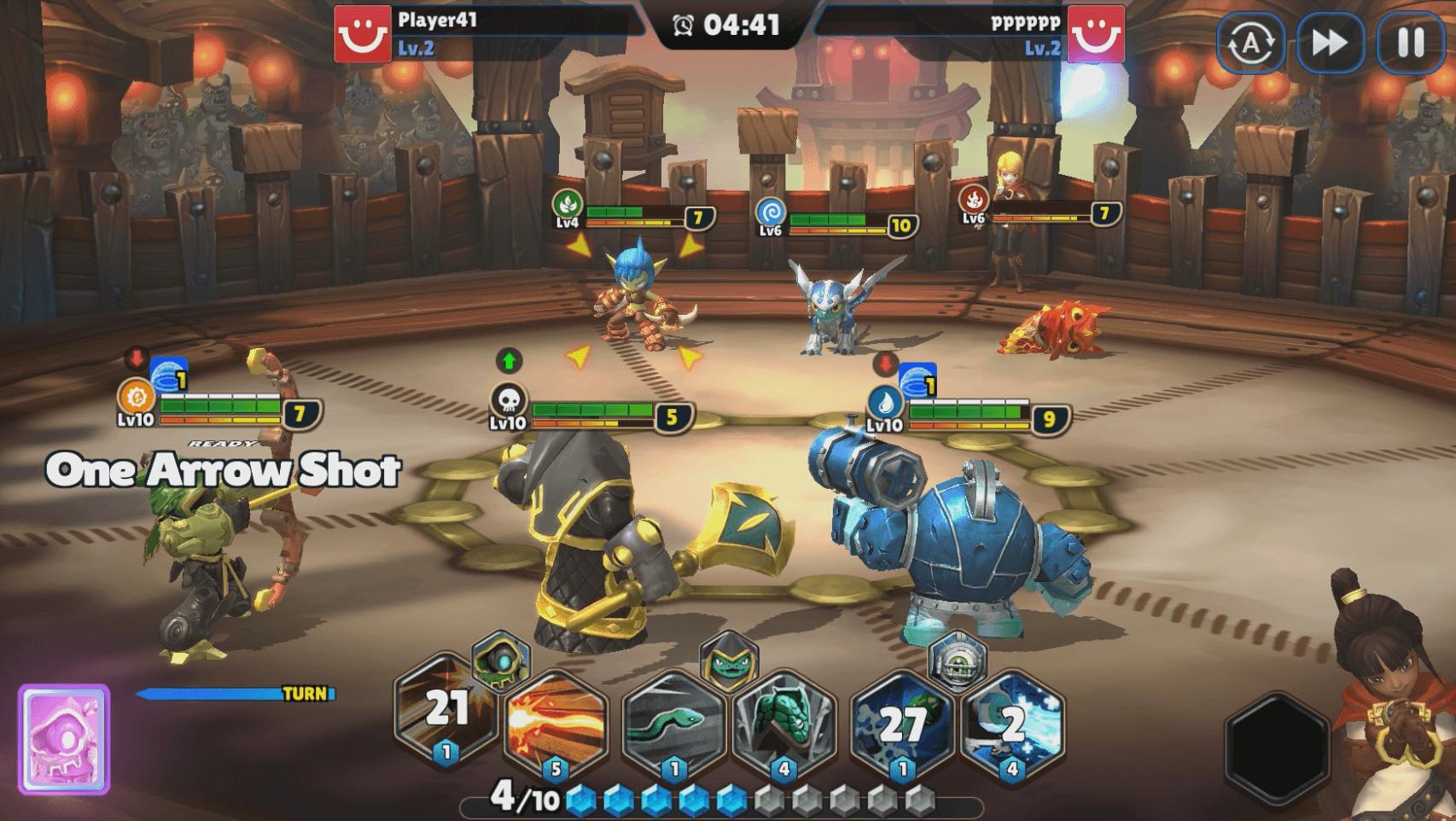 Skylanders Ring of Heroes Screenshot Arena1