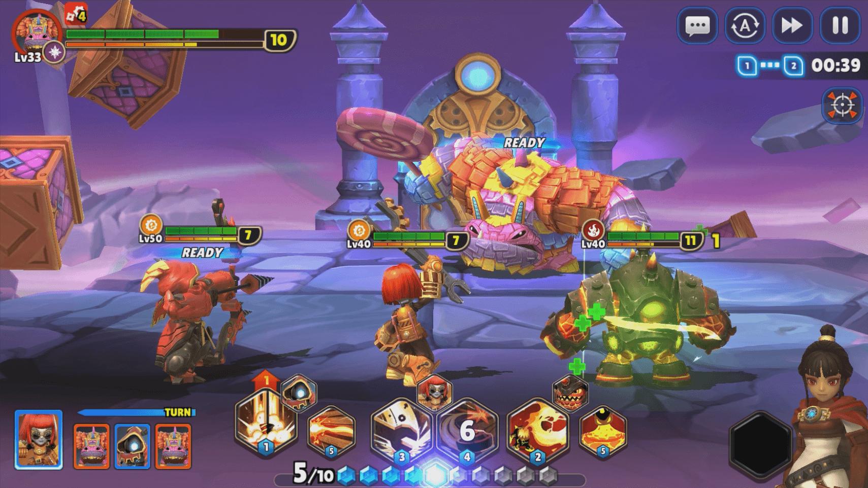 Skylanders Ring of Heroes Screenshot Szenario