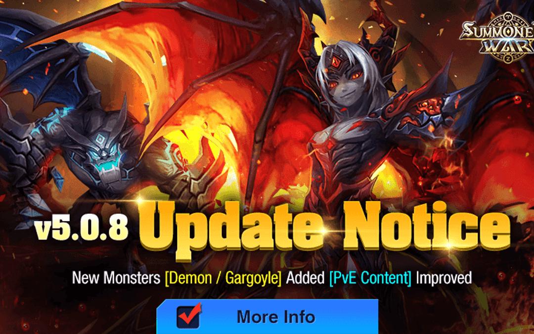 Summoners War: Dämon und Gargoyle geben ihr Stelldichein