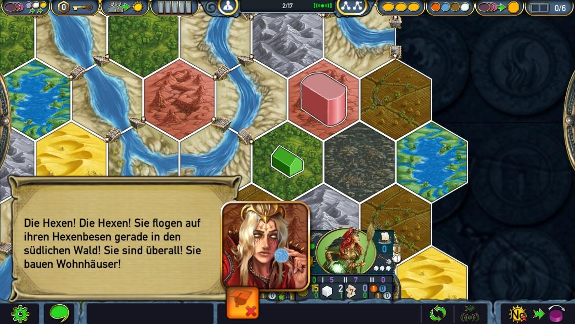 Review: Terra Mystica – Völkerkampf auf der Hexfeld-Karte