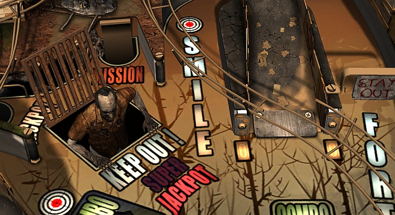 Review: The Walking Dead Pinball – Lauwarme Zombie-Flipperei