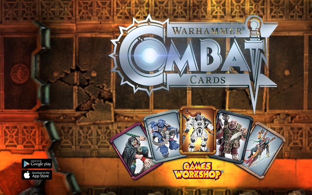Warhammer 40k Combat Cards für Android und iOS erschienen