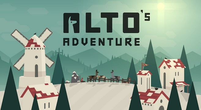 Review: Alto's Adventure – Die Lama-Gang am Pistenhäng!