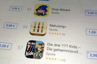 AppStore Preiserhöhung