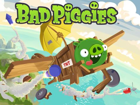 Review: Bad Piggies – Schweinegeile Konstruktionen