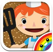 4 schicke Apps für Kinder: Bamba Post Office, Bamba Burger, Bamba Ice-Cream und Bamba Pizza