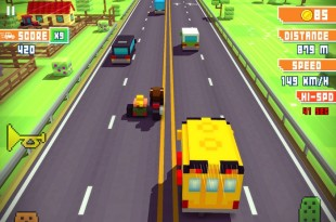 Blocky Highway Review iOS