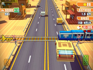 Blocky Highway iOS