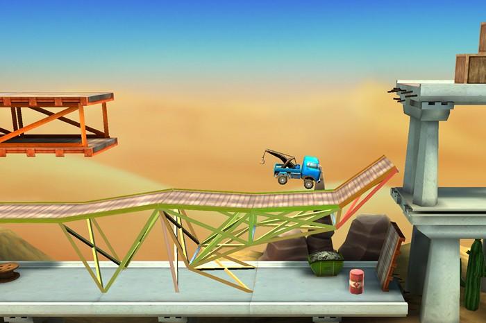 Review: Bridge Constructor Stunts – Trials meets Brückenbau!