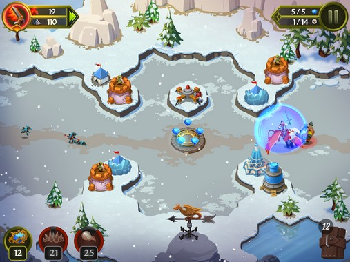 Crystal Siege iOS Review