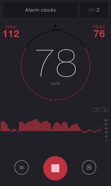 db meter schallpegel messen mit dem iphone appgemeinde. Black Bedroom Furniture Sets. Home Design Ideas