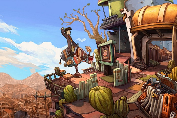 Deponia iOS Review