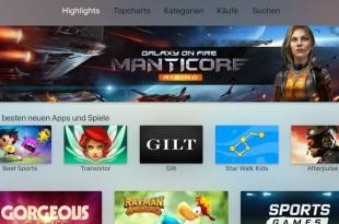 Die besten Apple TV Spiele