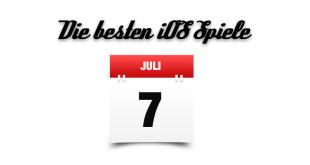 Die besten iOS Spiele Juli