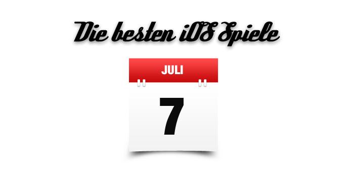 iOS Spiele Juli