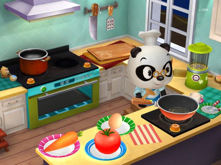 f r kinder dr pandas restaurant 2 gepflegte speisen bereiten appgemeinde. Black Bedroom Furniture Sets. Home Design Ideas
