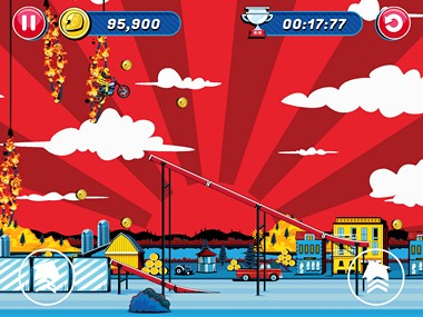 Evel Knievel Review iOS