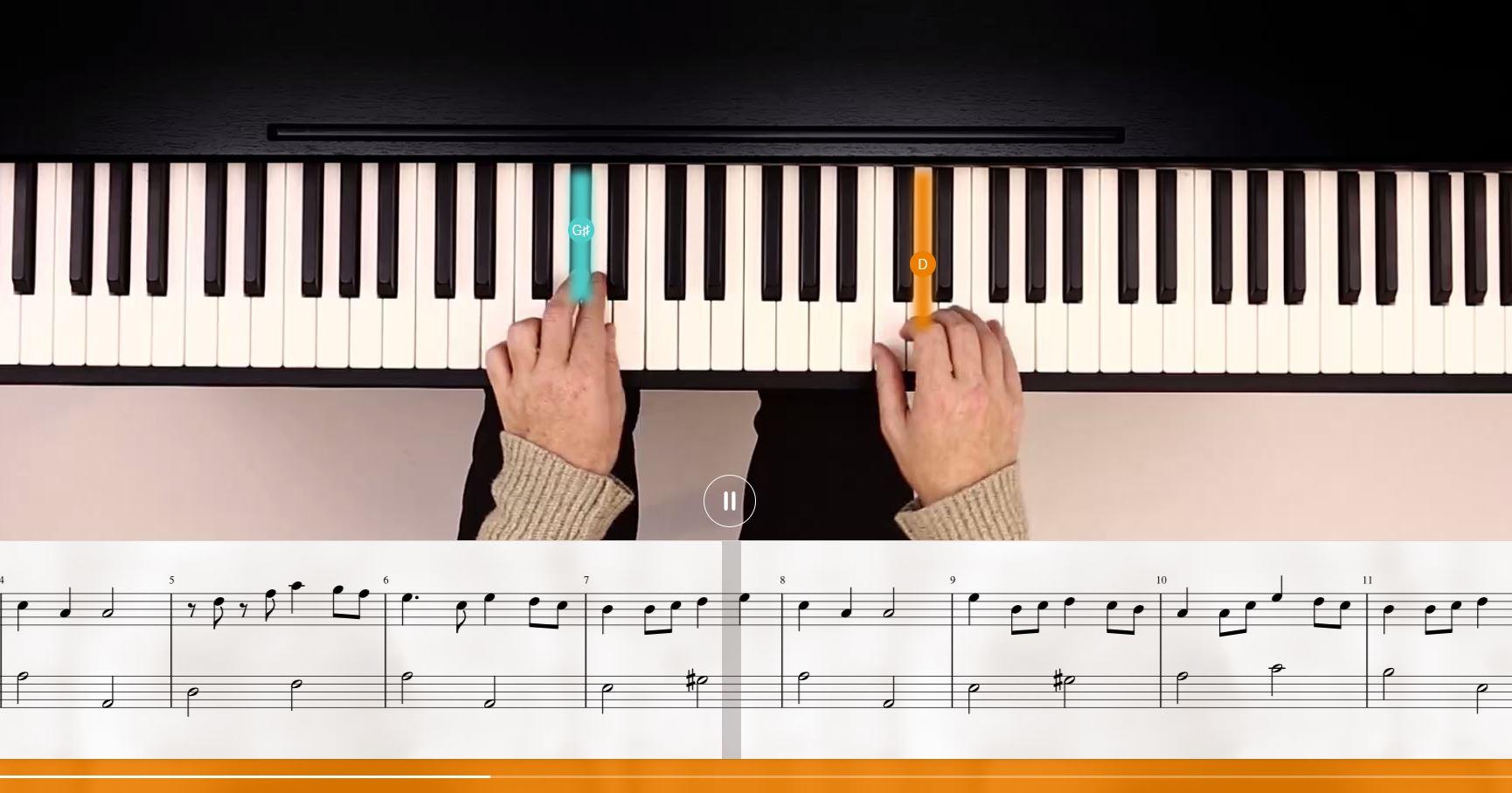 flowkey – Klavier einfach mit Lieblingsliedern lernen
