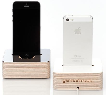 germanmade dock iphone 5