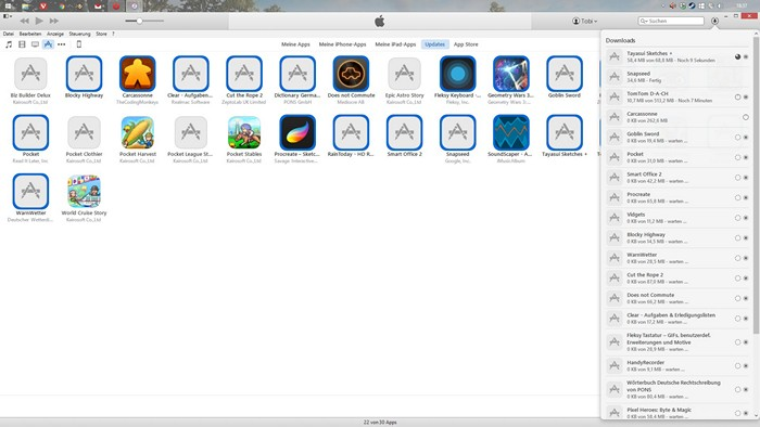 iTunes Backup Fehler iOS9