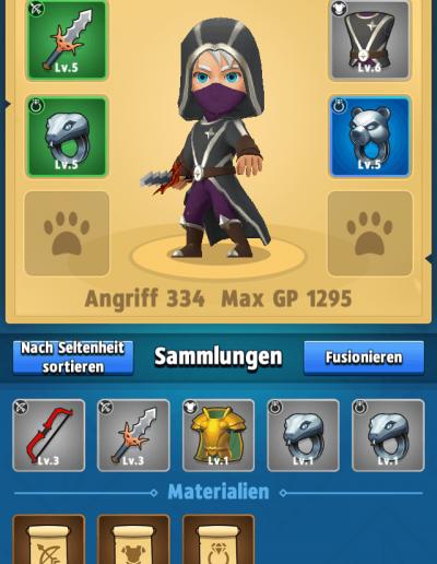Archero_Ausrüstung
