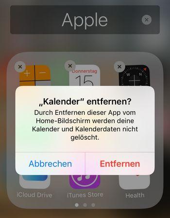anruflisten iphone löschen