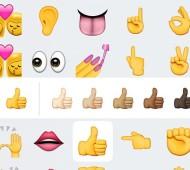 iOS Emoticon Hautfarbe