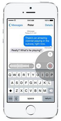 iOS8 iMessage