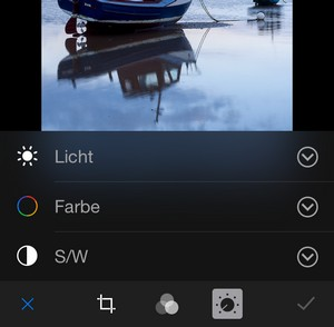 iOS 8 Fotos bearbeiten