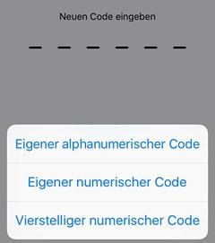 iOS9 Passcode