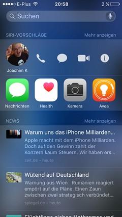 iOS 9 Trick Spotlight